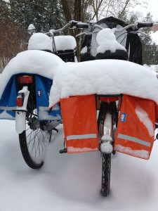 Dutch bikes winter